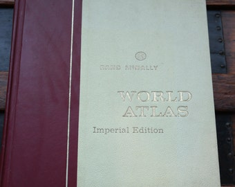 Rand McNally World Atlas Imperial Edition