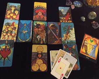 TWIN FLAME /RELATIONSHIP Private Video Tarot Reading via YouTube