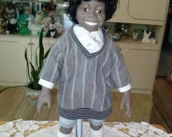 "SALE!!!  SALE!!! *Little Rascal Doll ""Buckwheat"""