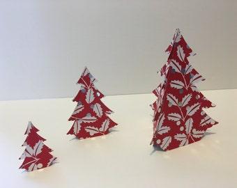3 Christmas trees decoration