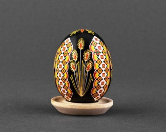 Painted egg on Easter