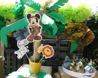 Safari/Jungle Center piece