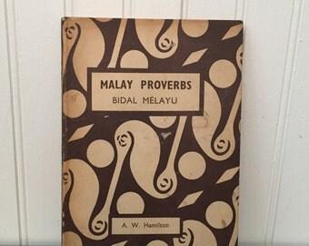Malay Proverbs (book)