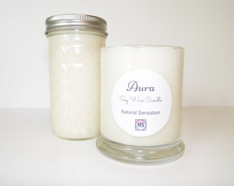 Aura ~ Scented Soy Candles