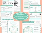 The Happy Self Improvement Workbook – Printable Digital File