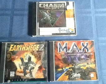 Earthseige, M.A.X., Chasm