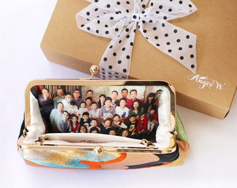 Photo Personalization for Heritage ReFashioned Clutches -- Add-on option