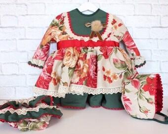 """""""Autumn flower"""" dress"""