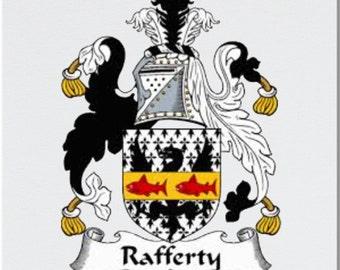 Rafferty Coat of Arms Coaster and Mug Printed