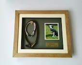 Pet Memorial Frame, Personalised Dog Frame, Cat Keepsake, Oak Pet Frame, Personalized Pet Keepsake, Shadow Box