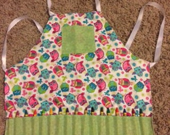 Custom Toddler Crayon Apron