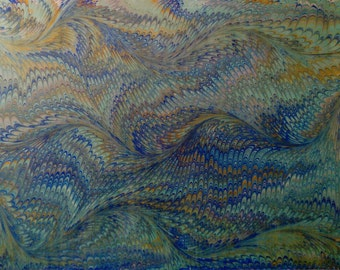 traditional marbling paper