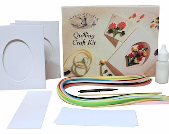 House of Crafts Quilling Kit Paper Filligree Art Pastime Creative Design Pattern
