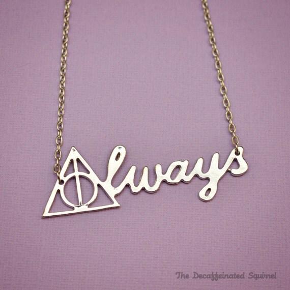always necklace harry potter fandom snape by