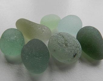 Neutral Shades Sea Glass Chunks