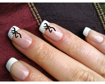 nails, nail art decal, deer, sticky stickers nail, deer