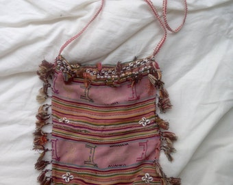 Vintage hippie boho festival bag purse