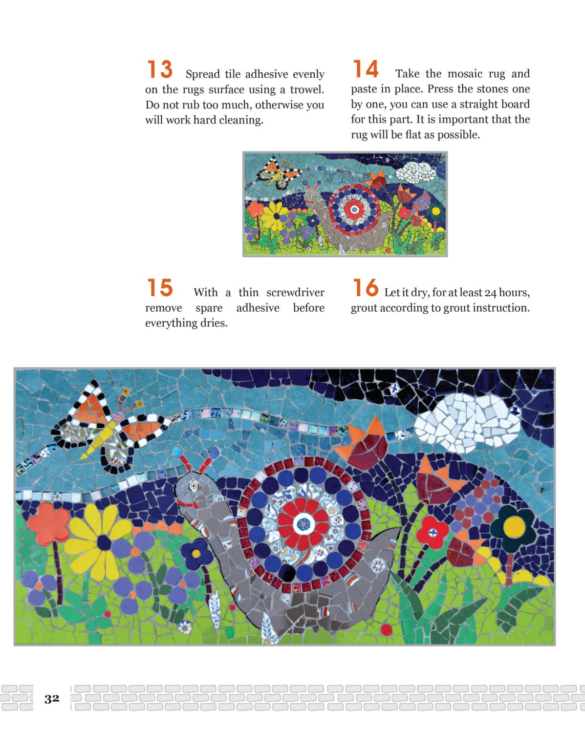 mosaic instructions for beginners