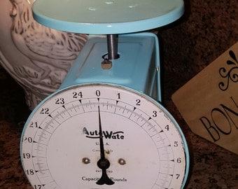 kitchen scale, vintage scale, antique scale, Auto Wate