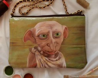 Harry Potter inspired - Dobby Handpainted bag