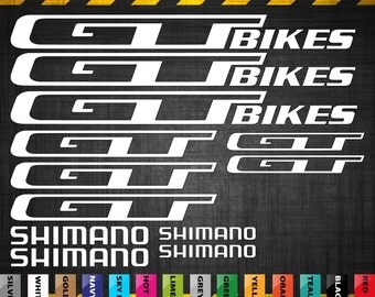 Bike Frame Flames And Name Decals - Vinyl stickers for bikes