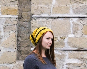 ON SALE Hufflepuff Inspired Toque