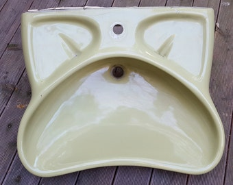 Washbasin Design Luigi Colani 1970s by Villeroy & Boch