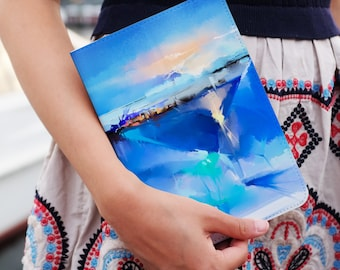 leather tablet case cover for samsung galaxy tab s2 8.0 galaxy tab s2 9.7 galaxy tab s 8.4 galaxy tab a 8.0 galaxy tab a 9.7 abstract ocean