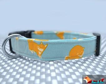 Shiba Inu Dog Collar - The Lazy Shibi