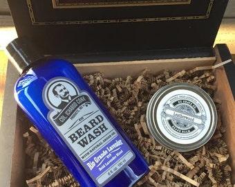 beard grooming kit birthday gift mens gift for him beard. Black Bedroom Furniture Sets. Home Design Ideas