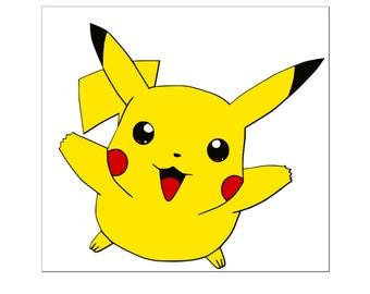 Pokemon Pikachu Cutting File