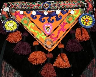 Suzani Tribal Tassel Belt