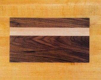 Walnut and Maple Cutting Board