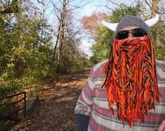 Crocheted Viking Hat and Beard