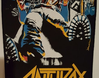 Anthrax Backpatch