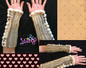 Vintage Inspired Armwarmers