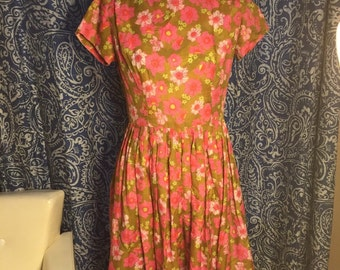 Womens Vintage Sundress