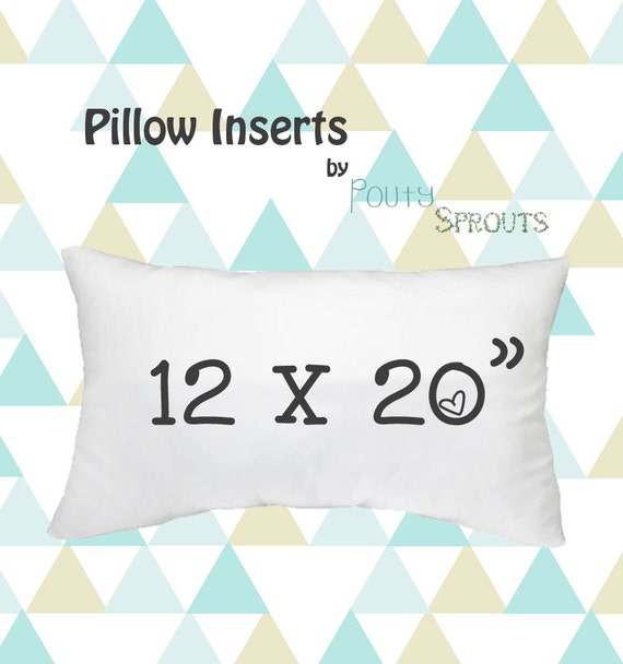Pillow Inserts For Throw Pillows : Faux Down Pillow Inserts Soft Throw Pillows Lumbar Size