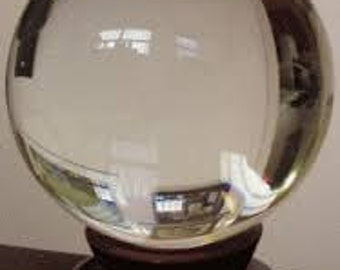 crystal ball from fortune teller