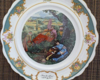 "The Poetry Society, ""Christopher Marlowe"" - 1982 Limited Edition Collector Plate"
