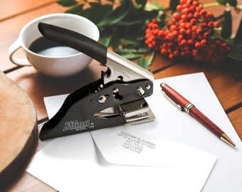 Personalised Address Marking Machine for embossing paper upto 100gsm