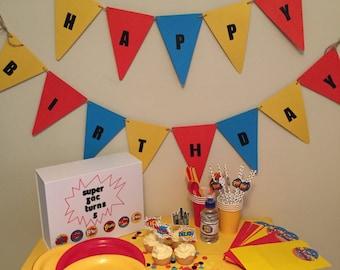 The SUPERHERO Perfect Parties Kit