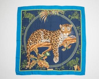 Salvatore FERRAGAMO silk scarf-Salvatore Ferragamo Silk scarf