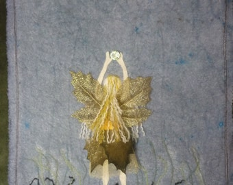 The offering Faerie Wall Hanging