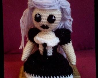 GOTHIC DOLL Crochet Amigurumi