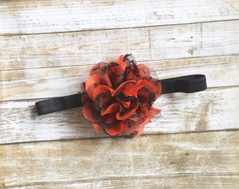 Halloween Headband, Halloween Baby Headband, Baby Headband, Baby Girl Headband, Infant Headband, Newborn Headband, Holiday Headband, Baby