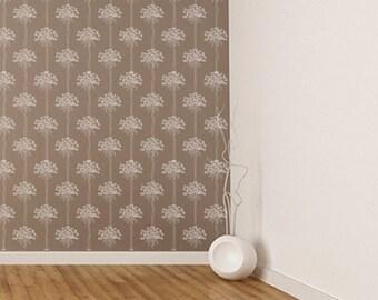 Wall Stencil Floral 001 Dandelion