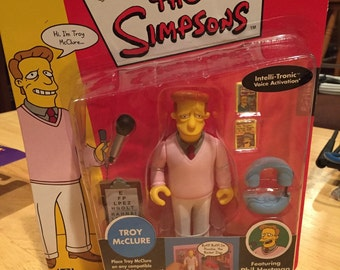 The Simpsons Troy McClure action figure series 1