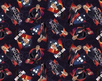 BBC Doctor I Am The Doctor Cotton Fabric by Springs Creative