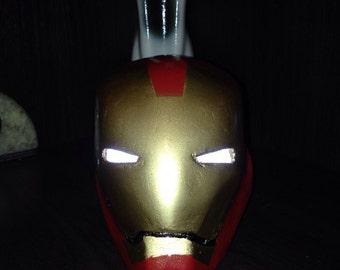 iron men helmet - железный человек